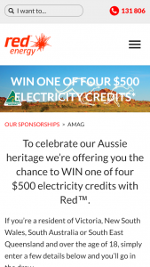 Australian Made – Win One of Four $500 Electricity Credits