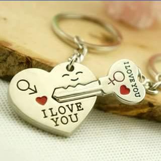 2B Cute – Win I Love You Key Rings
