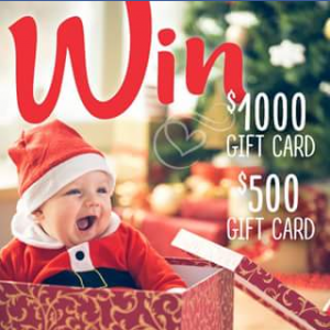 Baby Bunting FB – Win One of Two Baby Bunting Gift Cards (prize valued at $1,000)