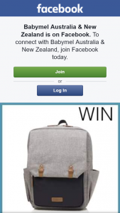Babymel Aust & NZ – Win a Baby Changing Bag (prize valued at $150)