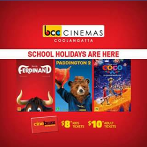 BCC Cinemas Cooloongatta – Win a Family Pass to See Coco Ferdinand Or Paddington2