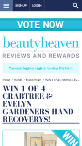 Beauty Heaven – Win a Gardeners Hand Recovery