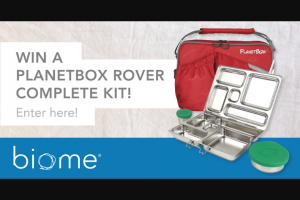 Biome Eco Stores – Win a PlaneTBox Rover Complete Kit