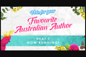 Booktopia – Win a Book Pack (prize valued at $1,000)