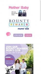 Bounty Rewards – Win 1-6 Redsbaby Jive² Platinum Stroller/ Bassinet (prize valued at $949)