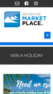 Brisbane Market Place – Win a $3500 Flight Centre Travel Group (fctg) Gift Card to Use Towards a Holiday of Their (prize valued at $3,500)