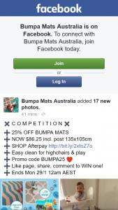 Bumps Mats Australia – Win a Bumpa Mat