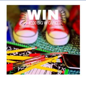 Calamvale Central Shopping Centre – Win Big W Gift Card Must Collect
