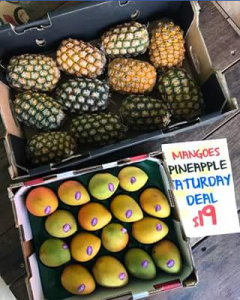 Charlie's Fruit Market – Win a Tray of Mangoes and a Box of Pineapples
