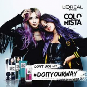 Cleo – Win 1/5 L'oreal Paris Colorista Hampers (prize valued at $500)