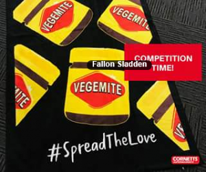Cornetts Supermarkets FB – Win 1 of 5 Vegemite Towel and Helmet Packs
