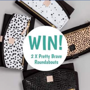 Daisy & Hen – Win a Beautiful @prettybrave Roundabout Clutch for You a Friend