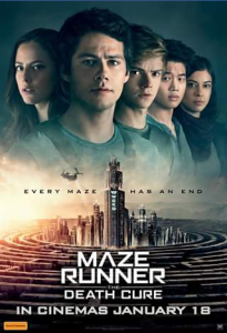 DB Publicity – Win 1/10 Double Passes to Attend a Preview Screening of Maze Runner Event Cinemas Innaloo