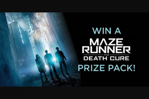 Dendy cinemas – Win a Maze Runner Book Set and 2-pack DVD Prize