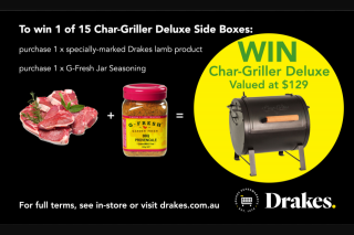 Drakes Supermarkets – Win Label Plus Any 1 Jar of G-Fresh Herbs (prize valued at $129)