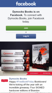 Dymocks – Win a Signed Hardcover Edition of Brandon Sanderson Oathbringer