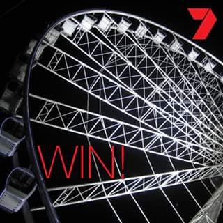 Ekka – Win 4 Wheel of Brisbane Passes Valued at $80 Thanks to Channel 7 Queensland (prize valued at $80)