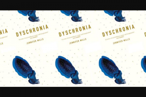 """Elle – Win a Copy of 'dyschronia'?"""" and Submit The Entry As Instructed (prize valued at $29.99)"""