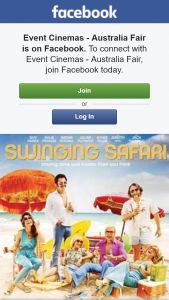 Event Cinemas Australia Fair – Win Swinging Safari Double Passes