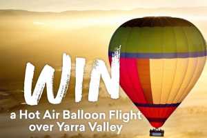 Experience Oz – Win a Hot Air Ballooning Flight for Two Over The Beautiful @visityarravalley_official