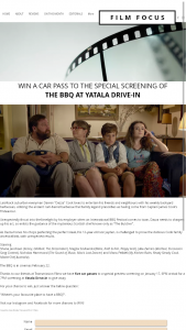 Film focus – Win a Car Pass to The Special Screening Of