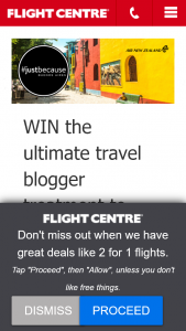 Flight Centre – Win The Ultimate Travel Blogger Treatment to Buenos Aires Argentina