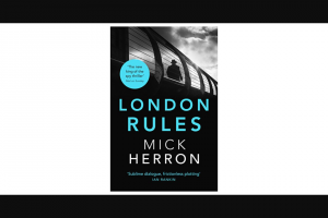 Goodreads – Win a Copy of London Rules