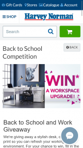 Harvey Norman – Win a Workplace Upgrade