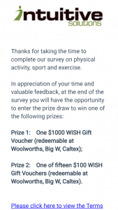 """Intuitive Solutions – Win a $1000 Wish Gift Card"""""""