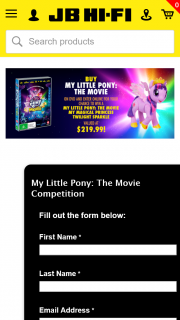 JB HiFi – Win a My Magical Princess Twilight Sparkle (prize valued at $219.99)