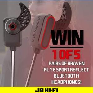 JB Hi-Fi – Win One of Five Pairs of Braven Flye Sport Wireless HeaDouble Passhones