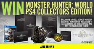 JB HiFi – Win this Amazing Monster Hunter