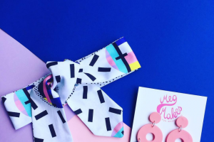 karla_cola – Win a Hair Tie By Karla_cola & Coordinating Earrings By Megmakes ( 8pm