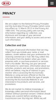 Kia Australia – an Ipad Pro (10.5 Inch (prize valued at $13,700)