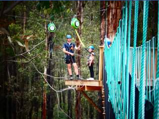 Kidding Around Australia – Win a Treetops Experience for Six People (aged 5 and Up) at Kinglake Forest Adventures Worth $270?