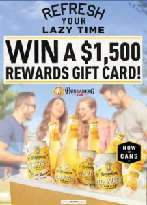 Liquor Legends – Win a $1500 Liquor Legends Rewards Card