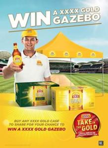 Liquor Legends – Win a Xxxx Gold Gazebo to Upgrade Your Australia Day Plans