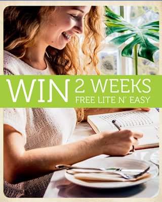 Lite 'N' Easy – Win 2 Weeks Free Lite N' Easy