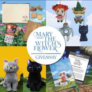 Madman – Win a Mary & The Witch's Flower Pack
