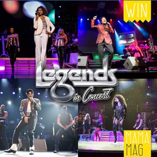 MamaMag – Win 1 of 3 Double Passes for Legends In Concert Show Each Worth $180