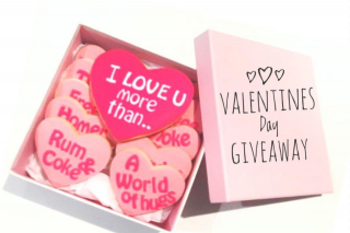 Miss Cookie Brisbane – Win One of Our Custom Designed Valentine's Day Cookie Box
