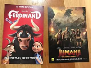 Mum to Five – Win a Double Pass to Either Ferdinand Or Jumanji