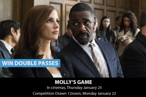 MyCityLife – Win a Double Pass to Molly's Game
