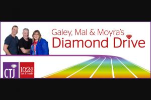 myGC-102.9FM – Win a $6000 Diamond