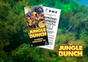 National Zoo & Aquarium Canberra – Win 2 Family Passes 2 Adults 2 Children for The Jungle Bunch