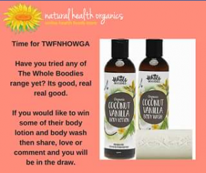Natural Health Organics – Competition