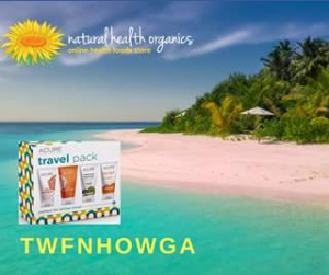 Natural Health Organics – Win a Little Travel Pack From Acure