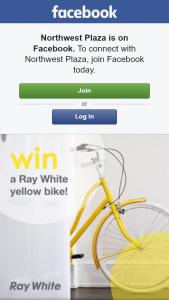 Northwest Plaza – Win a Ray White Yellow Bike & $100 Woolies Gift Card