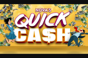Nova106.9FM – Win Yourself Some Quick Cash