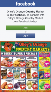 Olley's Orange Country Market – Win a $50 Fruit & Vegetable Box..